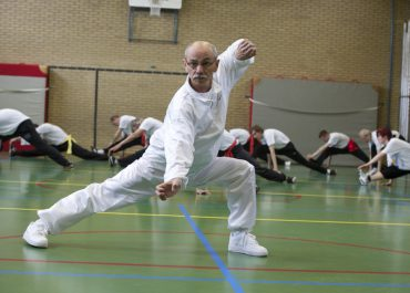 KUNGFU TRAINING (buiten)